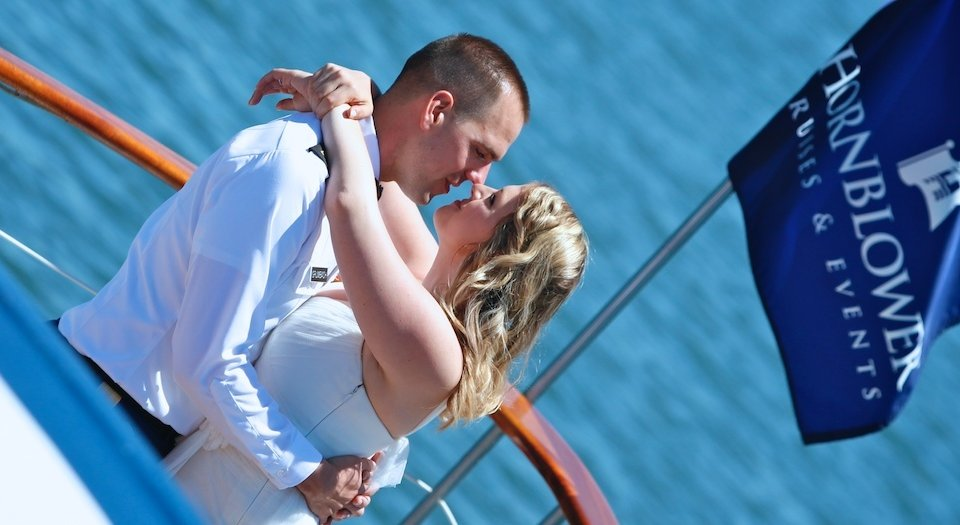"Angie & Danny Say ""I Do"" in a Yacht Wedding - Marina del Rey, CA"
