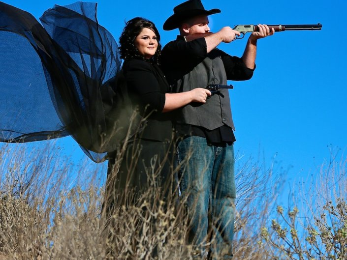 Old West Engagement Session