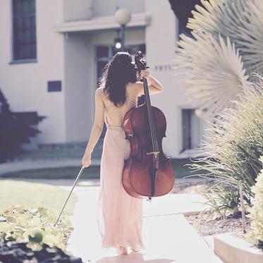Cellist Coco Hu